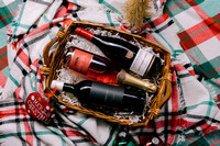 Holiday Wine Basket